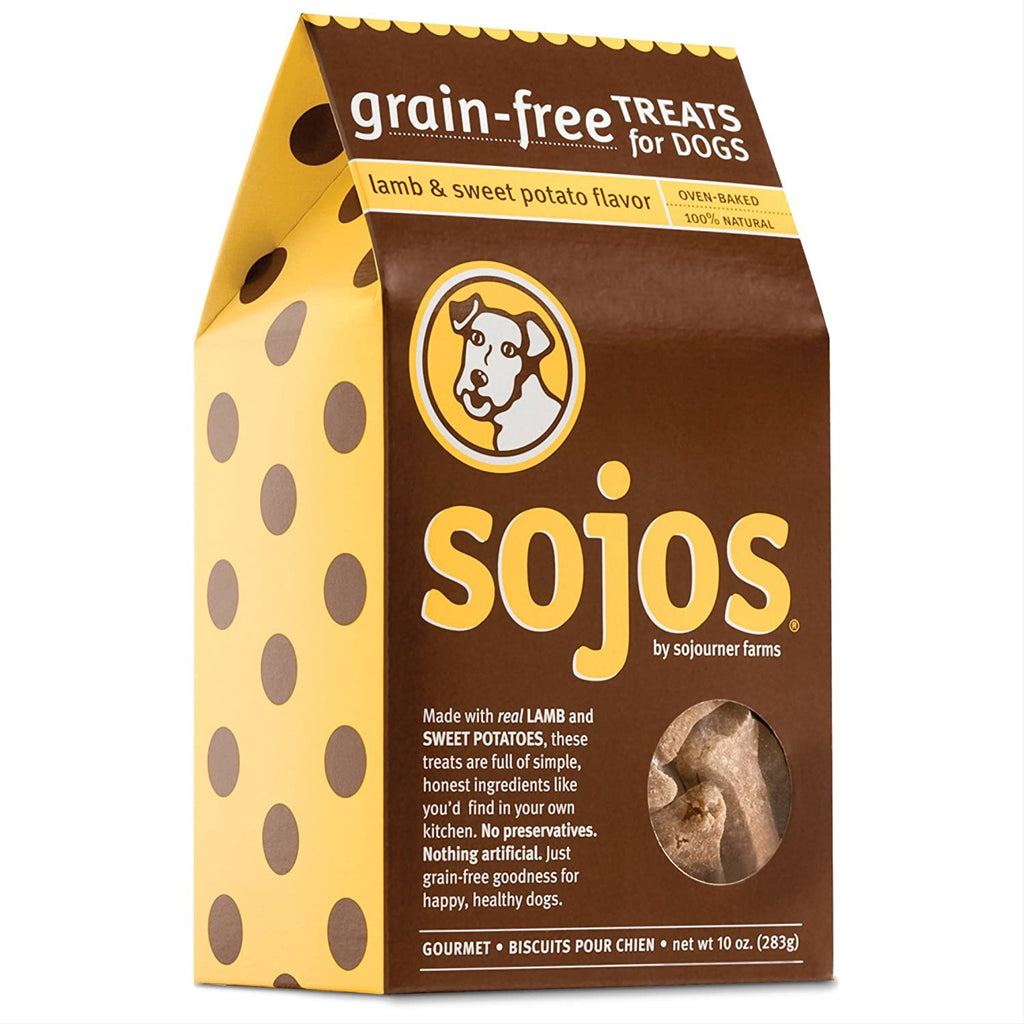 sojos - lamb & sweet potato treats