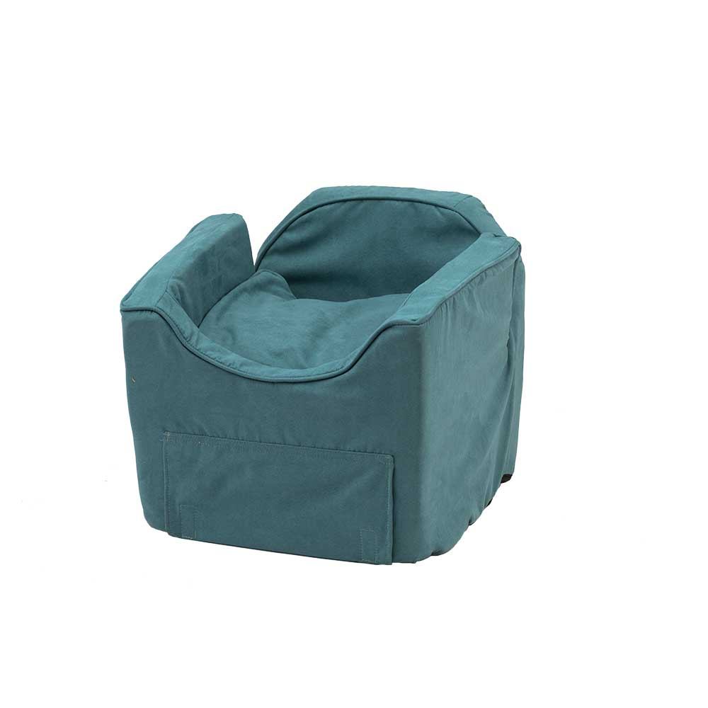 luxury microsuede booster car seat