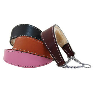 martingale shearling lined collars