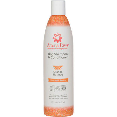orange nutmeg shampoo - shiny coat & calming