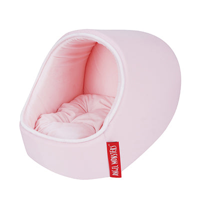 cave bed - pink