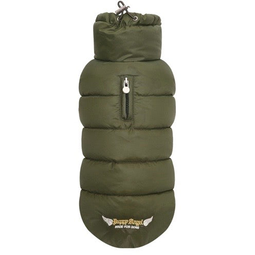 love faux down padding vest (regular, snap) - available in grey and pink