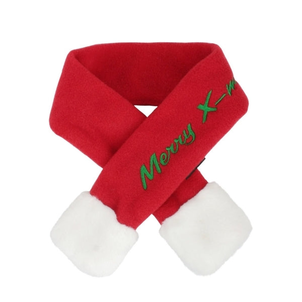 santa's scarf - small breed only sizes