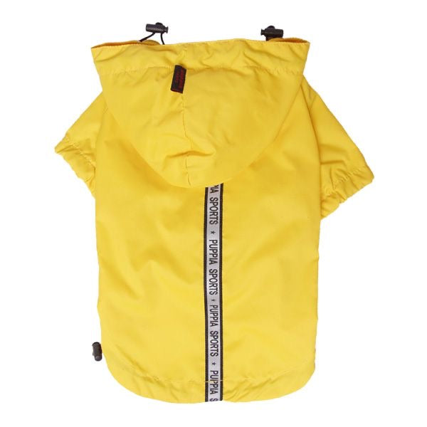 waterproof base rain coat - yellow