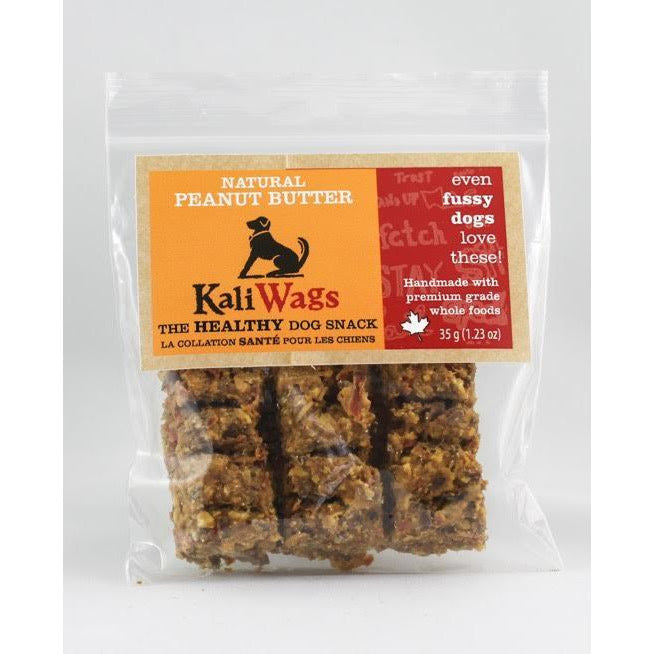 kali-wags - natural peanut butter treats