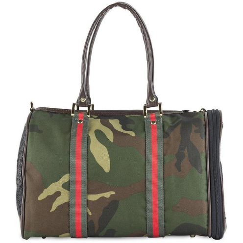 camo duffel with stripe - 2 sizes