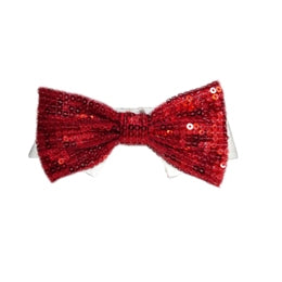 red sparkle felix bow tie