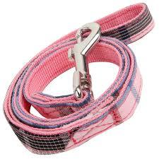 junior leash - available in pink or black!