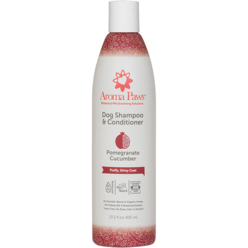 pomegranate cucumber shampoo - fluffy, shiny coat