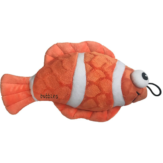 bubbles the clownfish plush toy