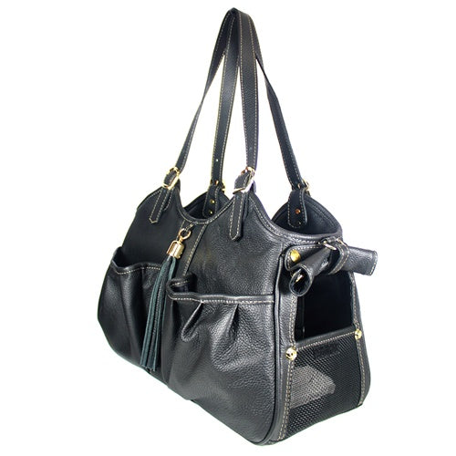 metro couture carrier - midnight with tassel