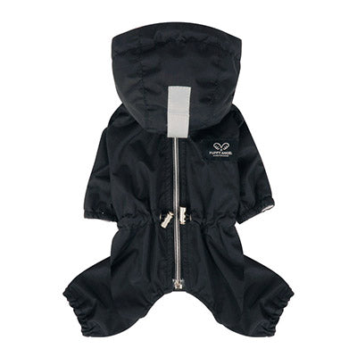 black raincoat overalls - for boys and girls!