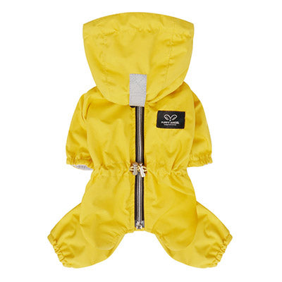 yellow raincoat overalls - for boys & girls!