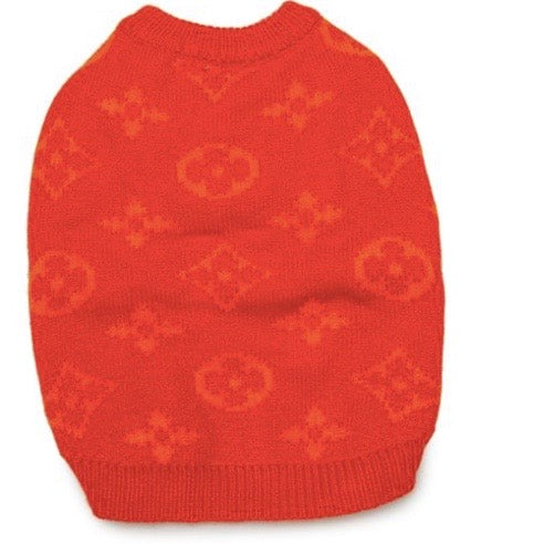 orange love me knit