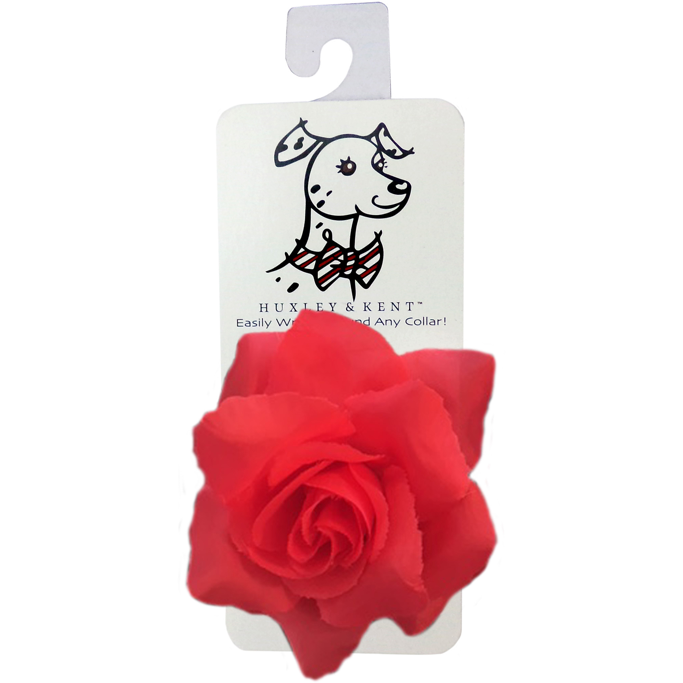 red rose collar attachment