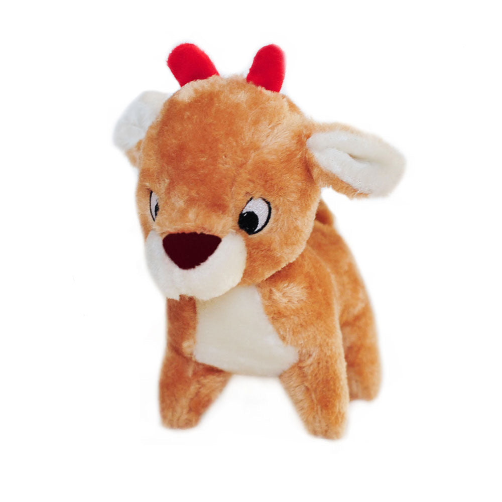 deluxe holiday reindeer squeaker toy - 1 left!!