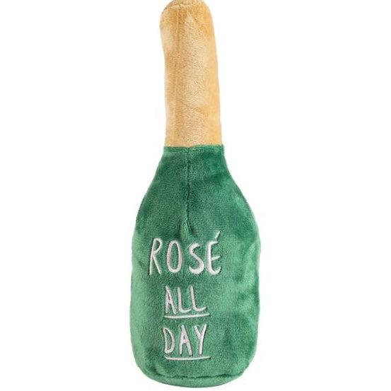 woof clicquot rose' plush toy