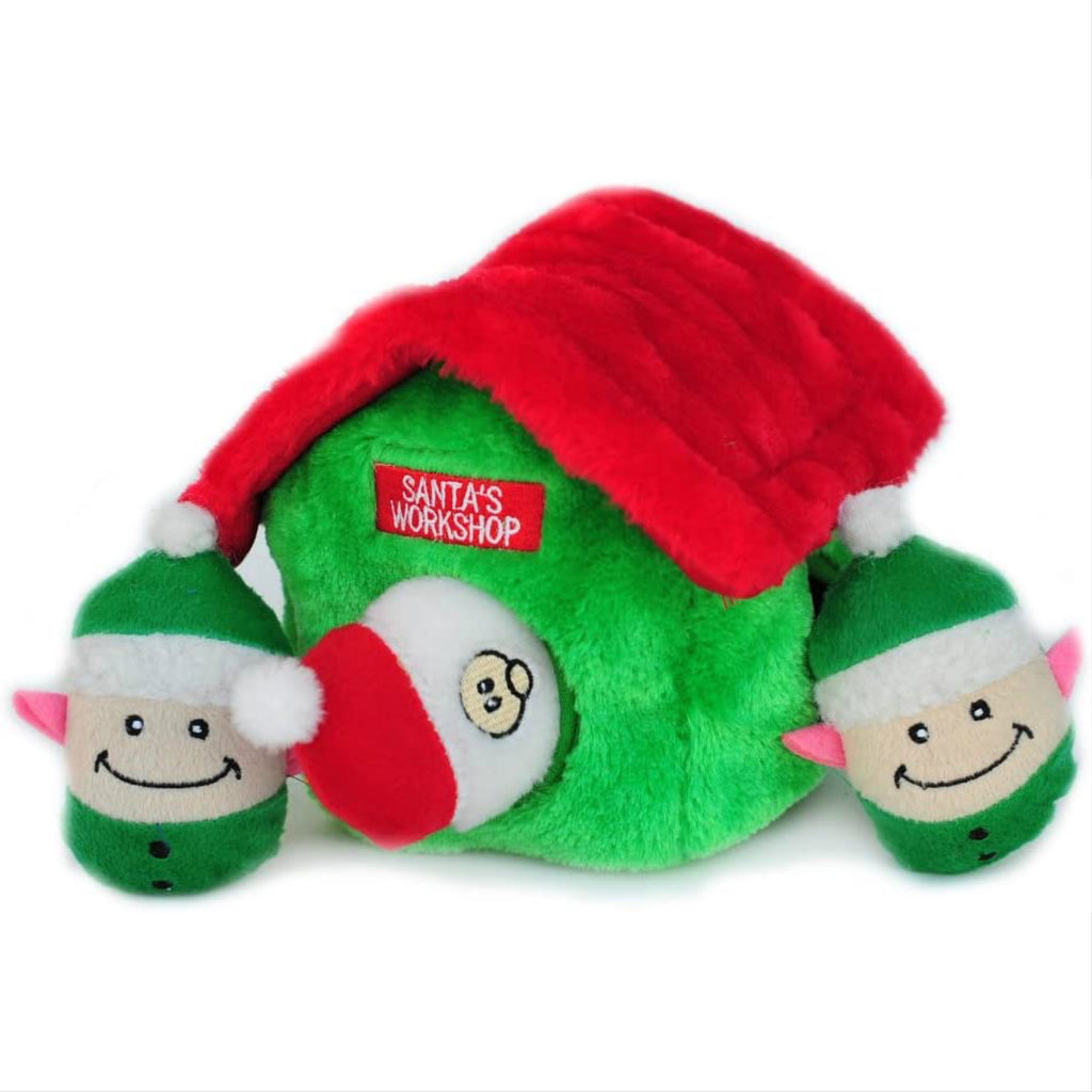 festive burrow toy - Santa's workshop