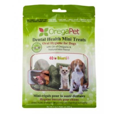 oregapet dental health mini treats - 200 g