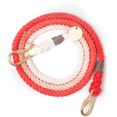 coral rope leash