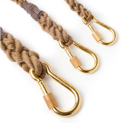 blush adjustable rope leash