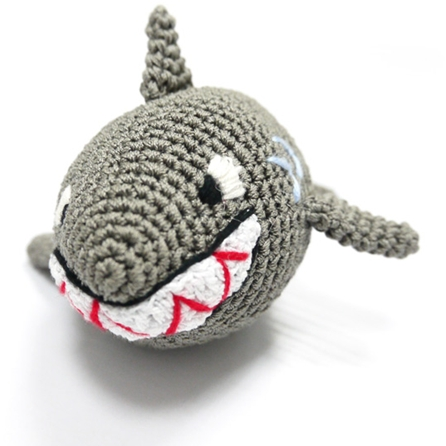 crochet shark toy