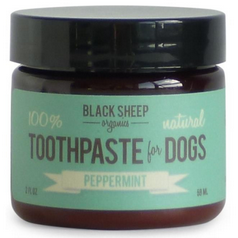 black sheep peppermint organic toothpaste