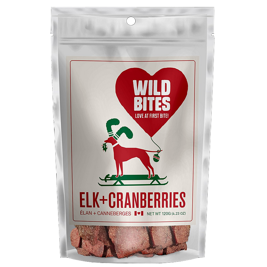wild bites - elk and cranberries