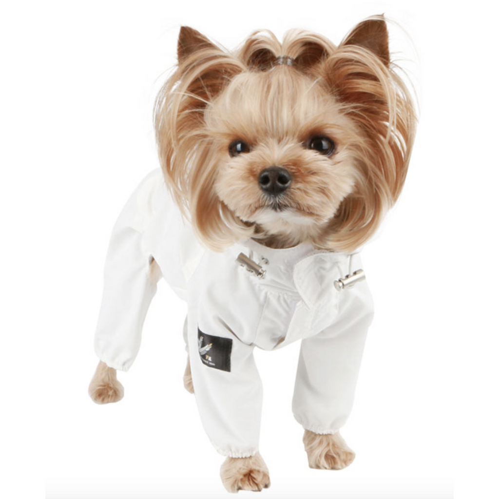 shark rain suit - ivory - 1 s/m left!