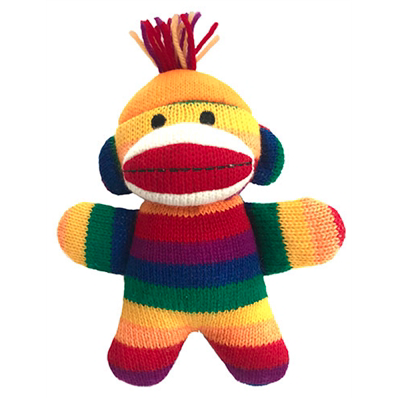 mini sock monkey toy