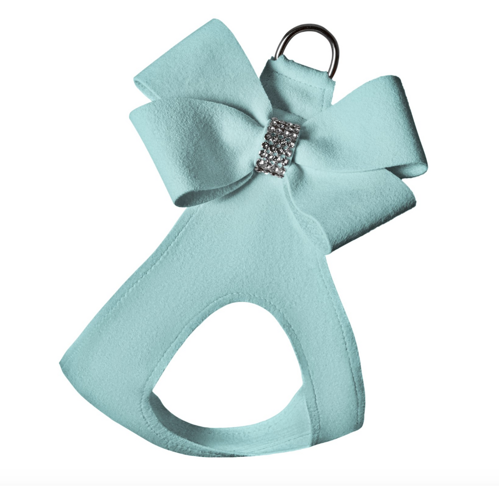 ultra-suede step in bow harness  - more colours