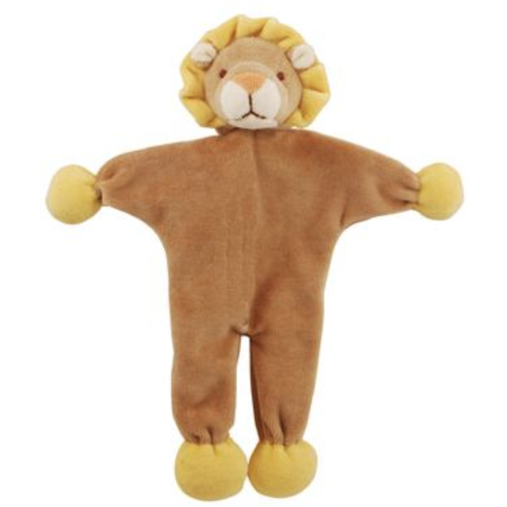 lion stuffless crinkle toy