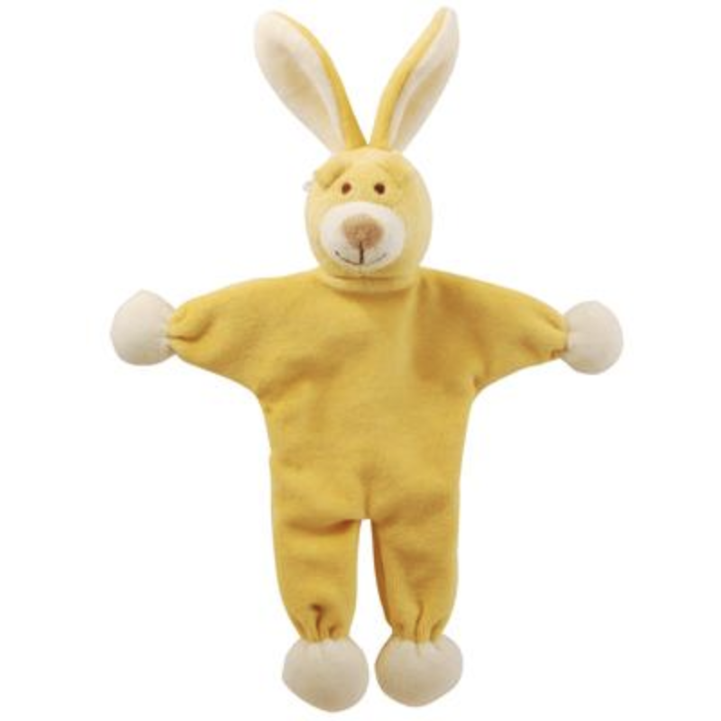 bunny stuffless crinkle toy