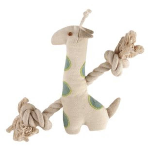 giraffe rope plush