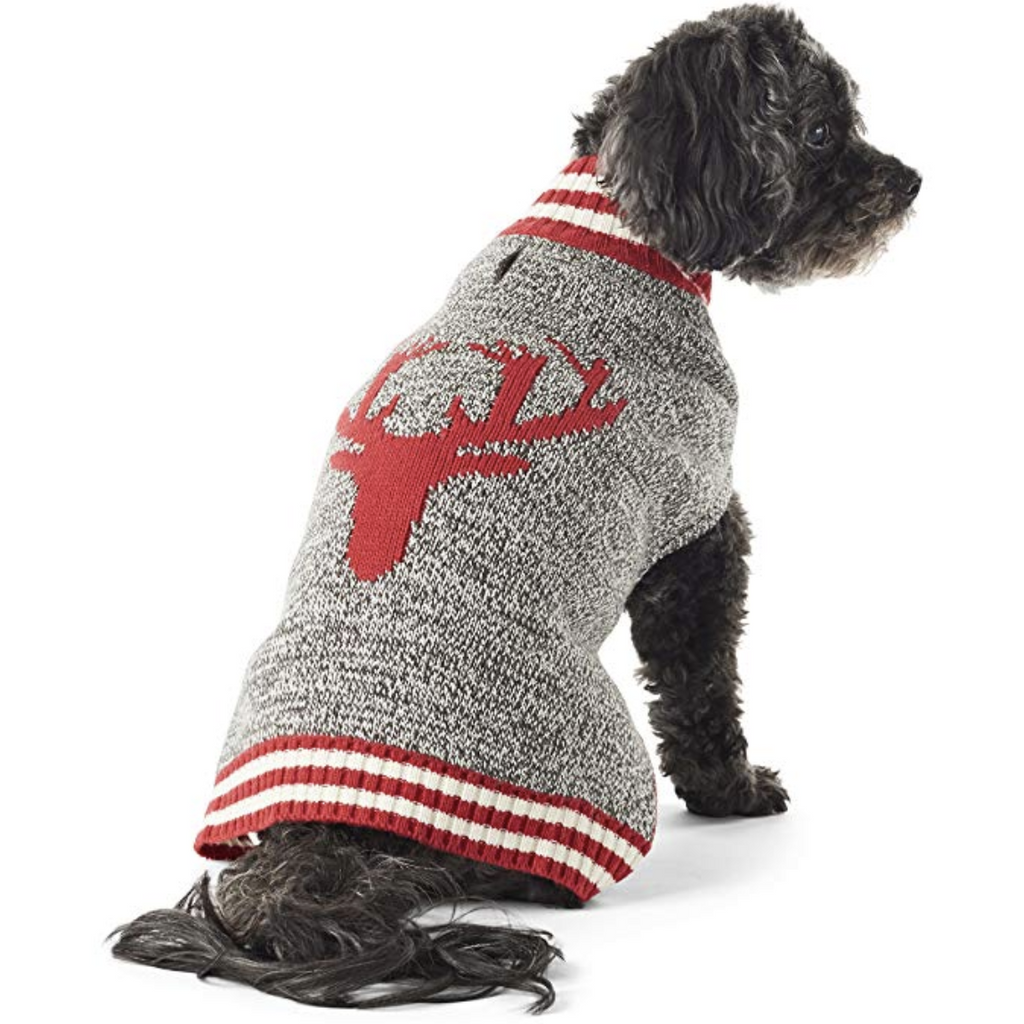 reindeer turtleneck sweater
