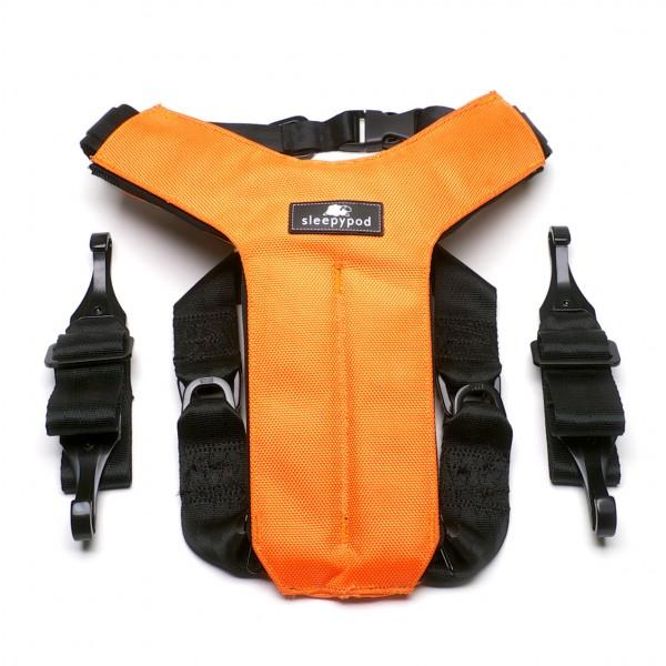 sleepypod clickit utility - 2 orange size large left