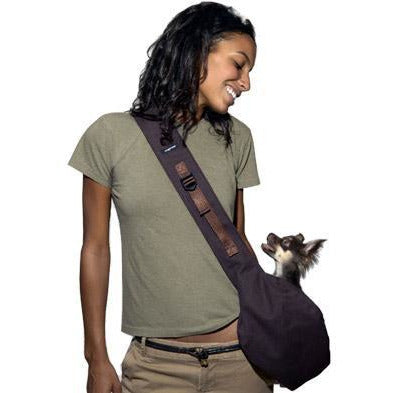 messenger pouch carrier - black