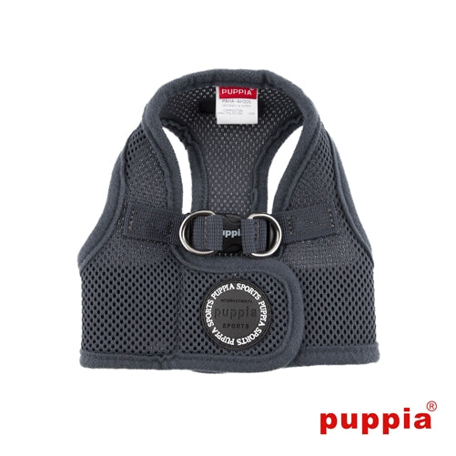 grey soft vest harness