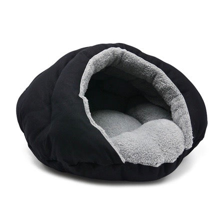 burger bed - solid black