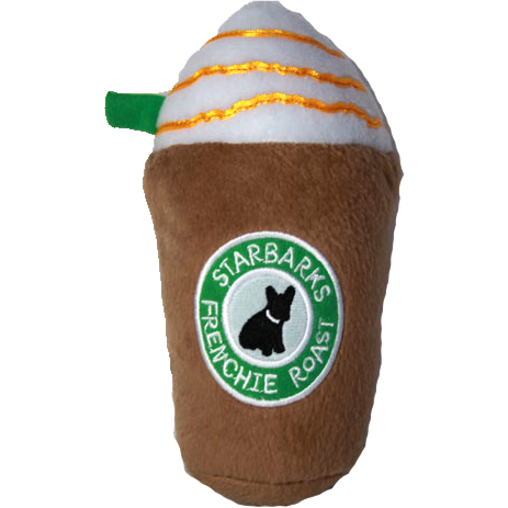starbarks frenchie roast plush toy