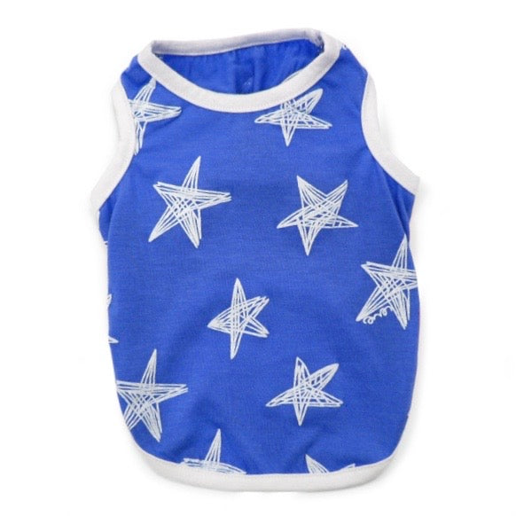 blue starry tank - 1 small left!