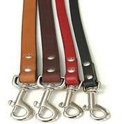 classic leather leash  - more colours