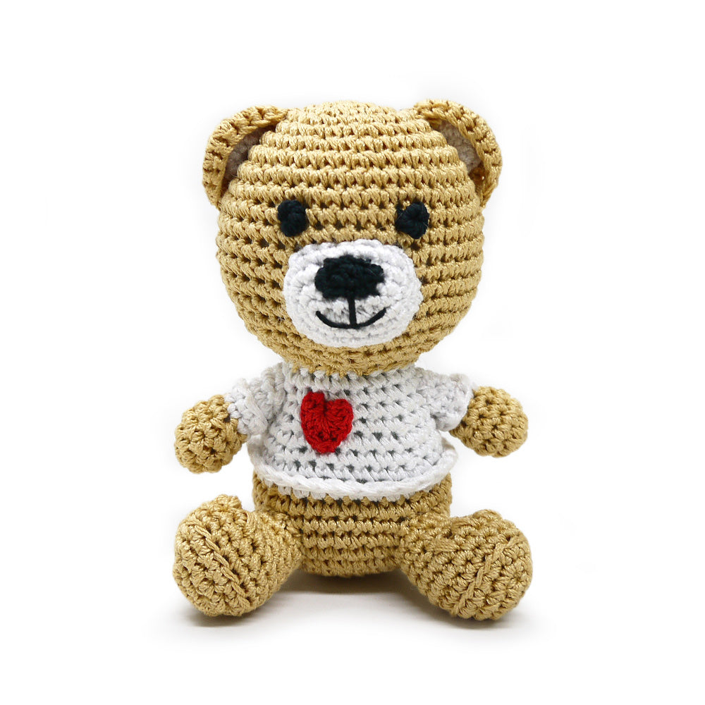 crochet teddy bear toy