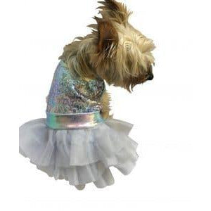 unicorn sequin tutu dress - 1 medium left!