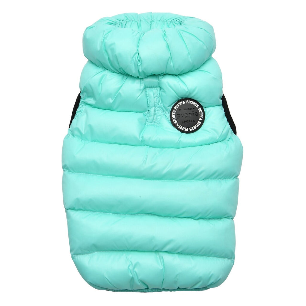 ultra light puffer vest B - sky blue