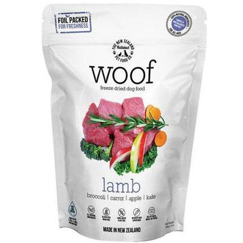 woof - freeze dried lamb recipe