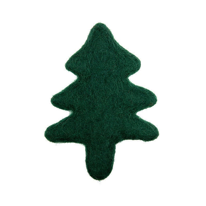 wooly xmas tree toy