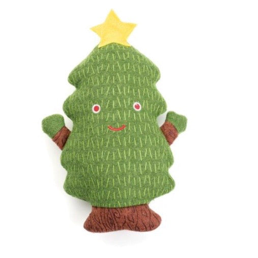 christmas tree woolie squeak toy