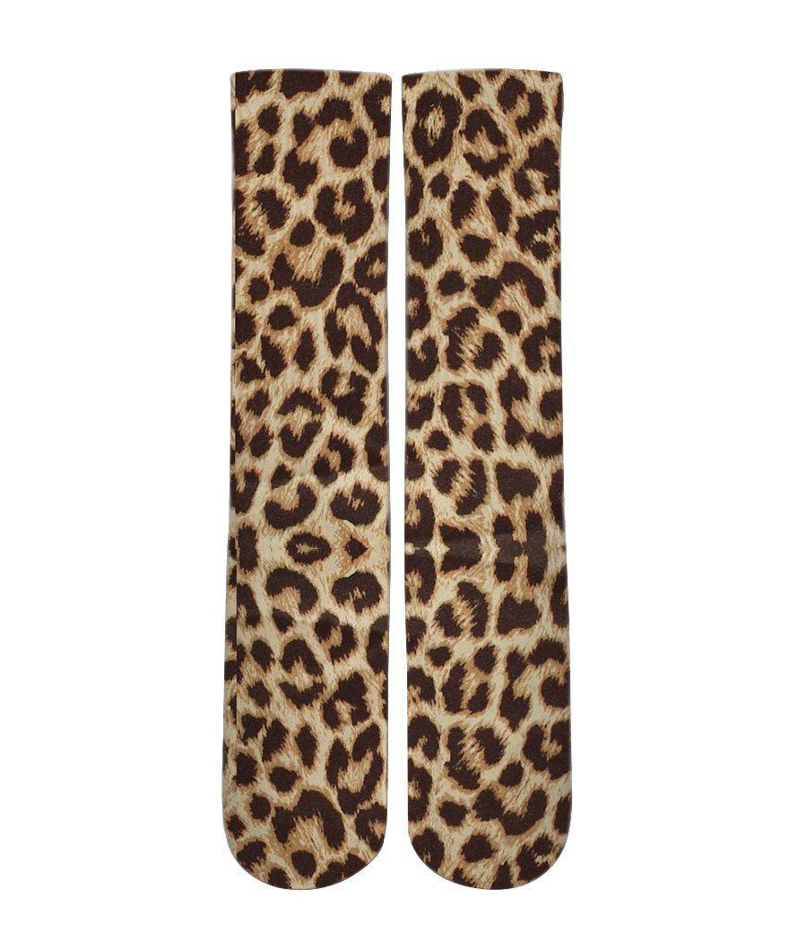 Leopard print socks - men and women - Dope Sox Official