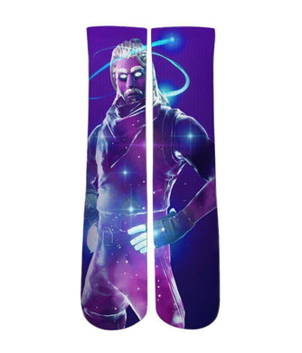 Custom Elite socks-Cool Fortnite crew socks - Dope Sox Official